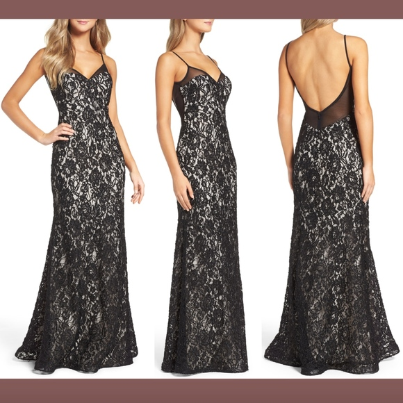 Xscape Dresses & Skirts - NEW Xscape Lace Embroidered Slipdress Gown